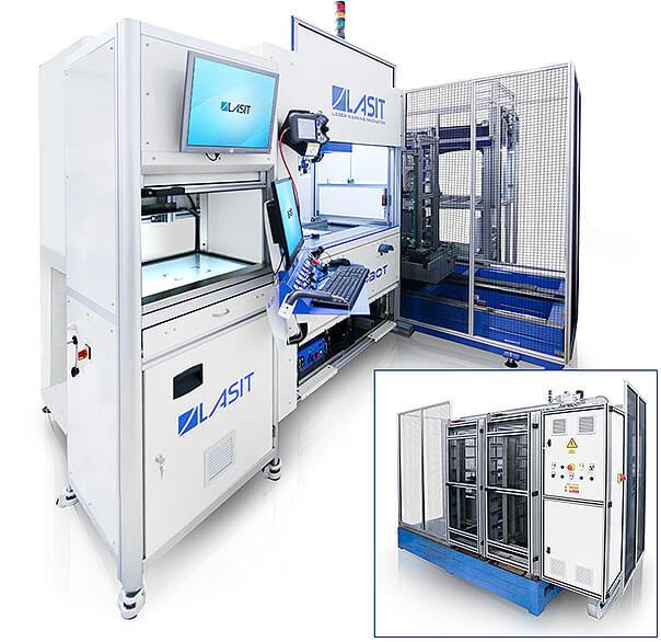 FlyRobot-02 Znakowanie laserowe elementów medycznych wykonanych z kobaltu, stali M30NW i tytanu TA6V