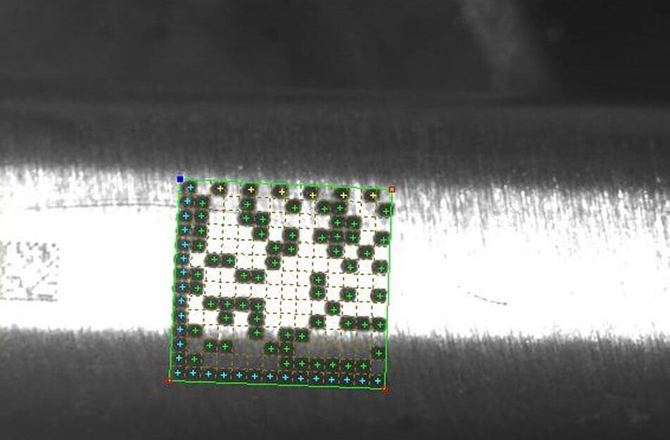 Titanio Znakowanie laserowe elementów medycznych wykonanych z kobaltu, stali M30NW i tytanu TA6V