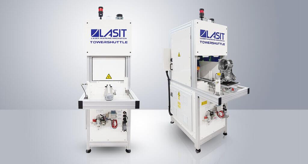 Articolo-TowerShuttle-01-1024x544 System laserowy zintegrowany z wózkiem dla branży motoryzacyjnej