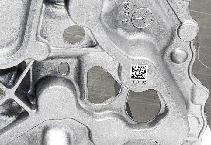 Automotive-Sample04 Grawerowanie laserowe w przemyśle odlewniczym