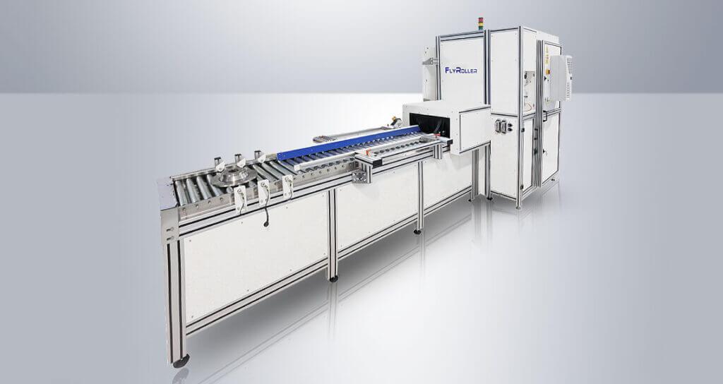 CopertinaFlyRoller-Articolo-1024x544 Niestandardowy system laserowy z podwójną kamerą i zmotoryzowanym przenośnikiem rolkowym dla branży motoryzacyjnej