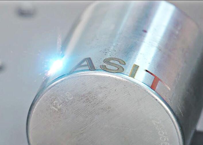 campionezdinamico Automatyczne znakowanie laserowe tabliczek z systemem etykietowania